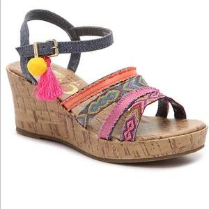 Circus by Sam Edelman Shoes - Circus by Sam Edelman wedge sandals, youth size 4